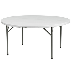"""60"""" Round Table $10.00"""
