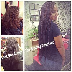 Luxury Small Long Box Braids