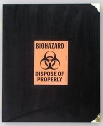 Biohazard book (cover)