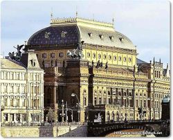 Prague's NATIONAL THEATER