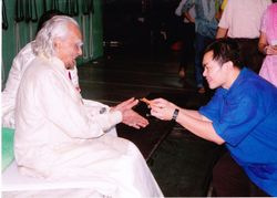 Dec 2009 - Guruji (BKS Iyengar) 91st Birthday