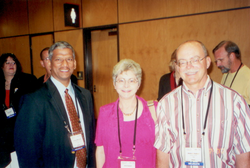 Prof Andrew Seybert and Mrs. Seybert
