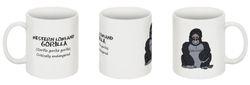 West Lowland Gorilla mug