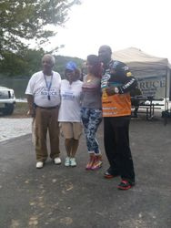 State Representative Roger Bruce & Wife with Kendall Newson & His Wife