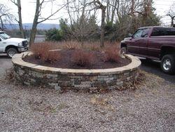 Round Retaining Wall
