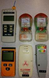 Various EMF meters
