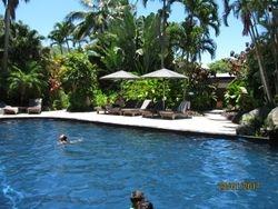 Pacific Resort, Rarotonga. Piscine 1