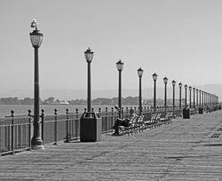 Pier in S.F. by Annette VanLengerich (HM)