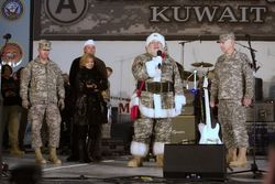 Santa in Kuwait