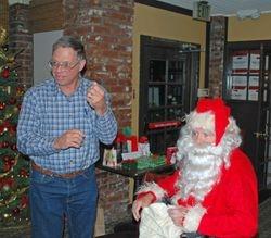 Phil and Santa