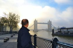 Dennis and the Tower Bridge