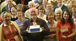 The Choir's 40th Birthday Cake !