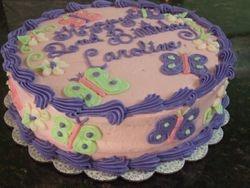 Butterfly/ Flower Cake (1)