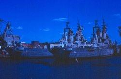 Philadelphia - USS Wisconsin BB-64, USS Iowa BB-61
