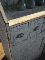 #14/151 Painted Cabinet detail