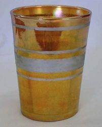 Silver Band tumbler, marigold