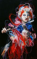 Violinist ( Harmony Series ), 2013