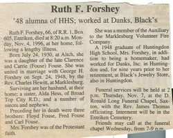 Forshey, Ruth Fouse 1996