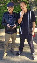 Tony Montana and Rober Kegel