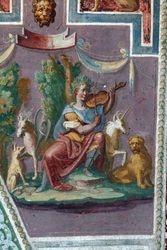 Orpheus Tames the Animals, Villa Lante, Bagnaia, 1570s