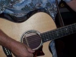 Randy's guitar.