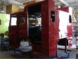Interior Cab work beginning