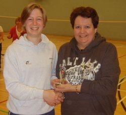Handicap Tournament Ladies Singles Runner Up