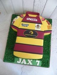 Underbank Rugby Birthday Cake