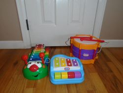 Little Tikes Musical Instruments- 3 - $30