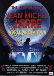 Arena Tour Flyer