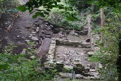 Bonnington Sawmill after excavation.