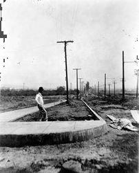SUNSET BLVD. NEAR FAIRFAX, 1910