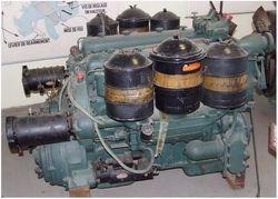 The Sherman M4A2 Powerplant::