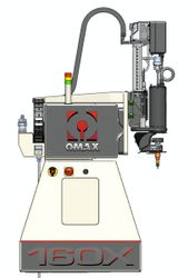 OMAX 160X Cutting Head Unit