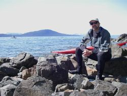 Paddling around Juneau, AK