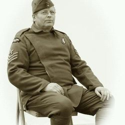 RFC uniform worn by Howard Millin