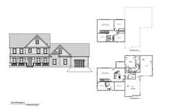 Custom 2 level house plans