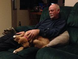 Lucy and Larry (her Daddy)