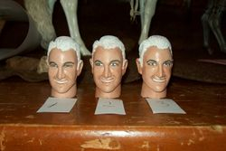 Heads sculpted by Johnny E4