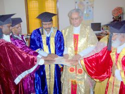 Most Rev. Dr. Madhu Krishan Conferring Degrees & Participation Certificates To Peace Builders