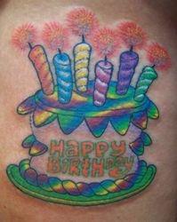 Michelle's Birthday Cake Hat