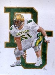 Baylor linebacker