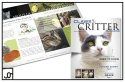 CLAWS Cat Shelter Magazine