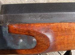 """The Beast"" engraving barrel flat"