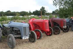 More auction tractors