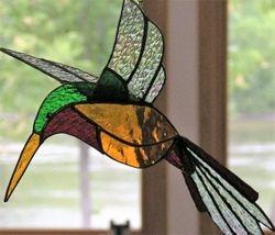 3-d Humingbird