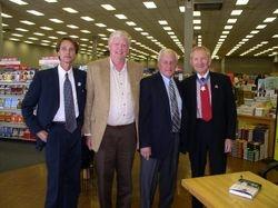 Colin, Sam Davis, Ken Johnson, Maj. Gen. Livingston