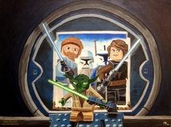 Lego Star Wars, 12X10 SOLD