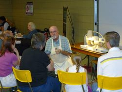 Cabbing Demo by Brantford Lapidary & Mineral Society