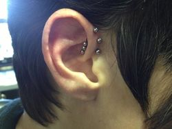 World Famous Triple Forward Helix